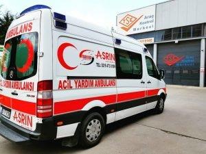 Organizasyon özel ambulans