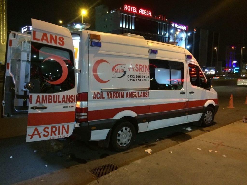 Bostancı Hasta Nakil ambulans